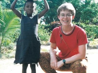 Katie Quirk in Tanzania