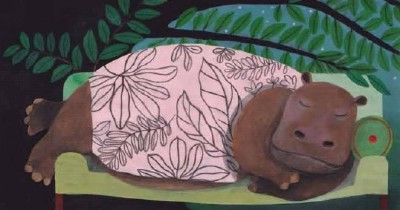 Interior illustration from Zoboli and Mulazzani's Big Book of Slumber