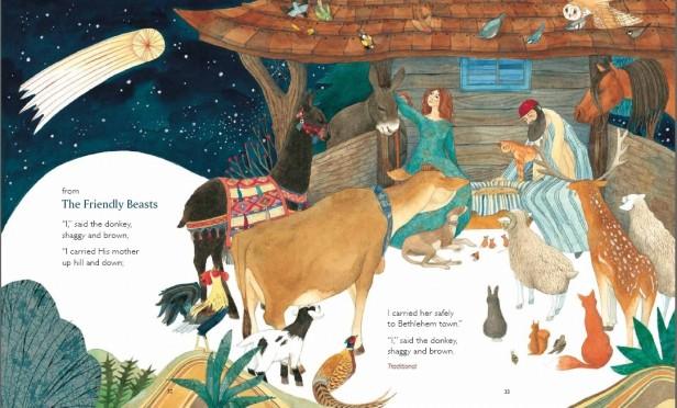 Interior illustration by Helen from Manger