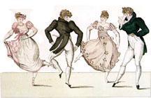dancing image 1800's