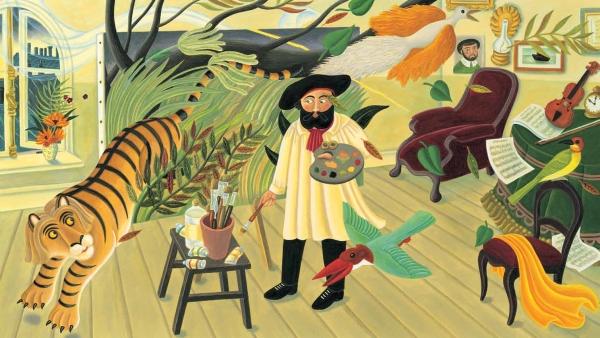 Rousseau---wild-things