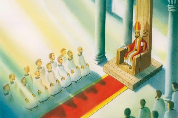 St-Nicholas-spread-throne