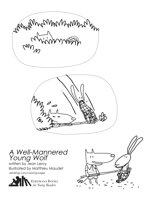 youngwolfcoloringpage