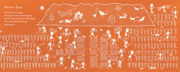 Warli People - Harvest