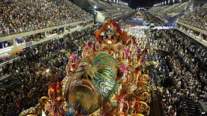 Brazil parade