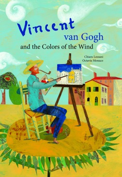 Vincent van Gogh and the Colors of the Wind children books biographies for kids illustrated books