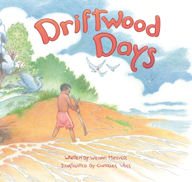 Driftwood Days illustrated childrens books for kids picture book