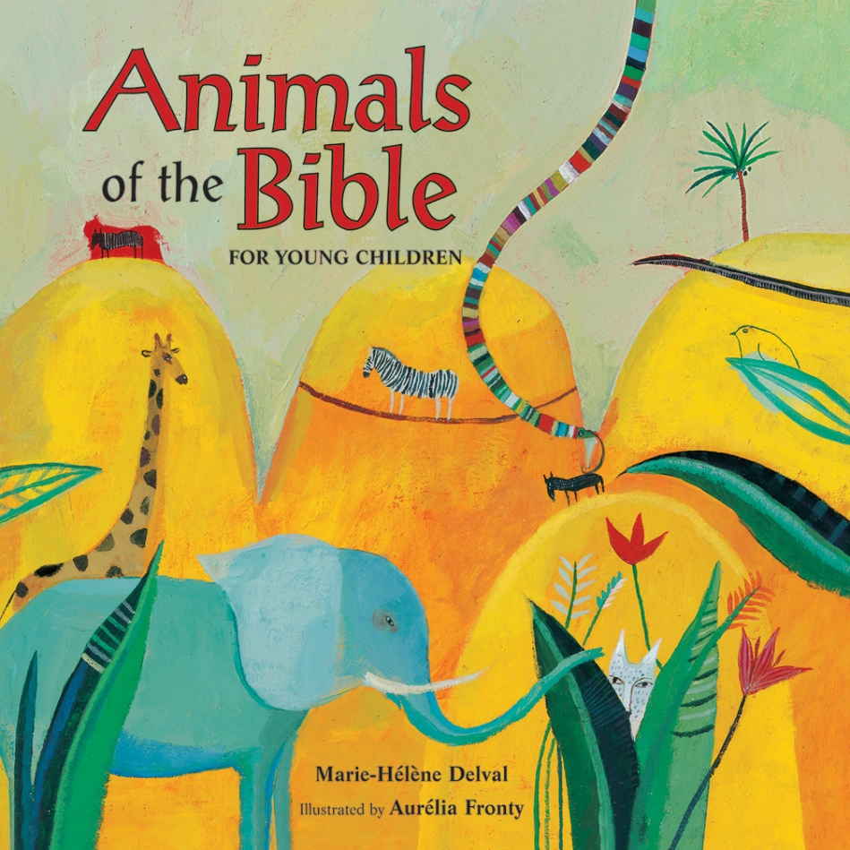 Animals of the Bible for Young Children book bible illustrated books