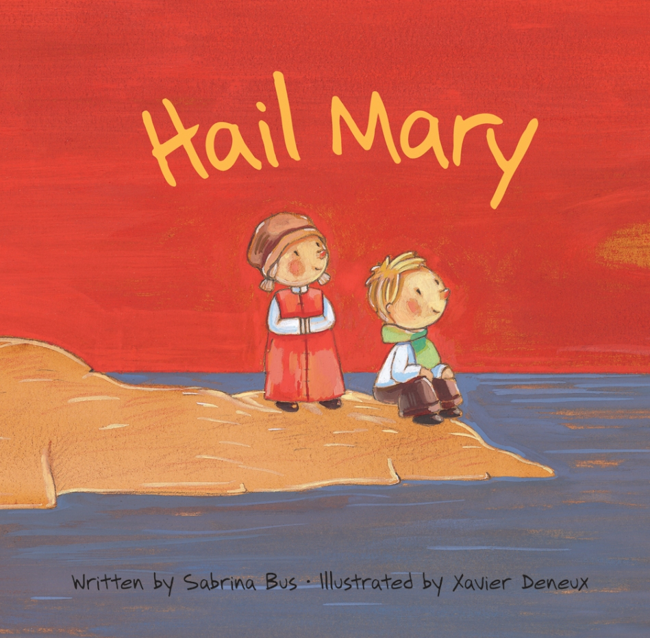 Hail Mary illustrated bible stories for kids