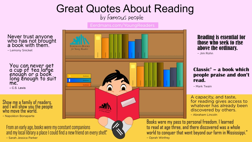 Great Quotes About Reading by Famous People celebrity's quotes