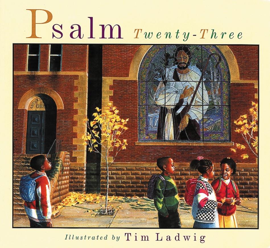 Psalm Twenty-Three illustrated books for children