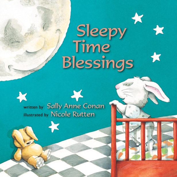 Sleepy Time Blessings preschool children picture books