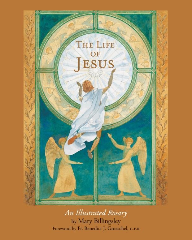 The Life of Jesus illustred bible books for children kids books