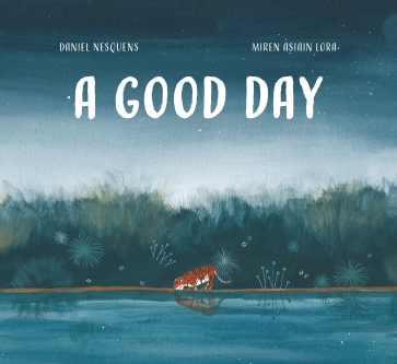 A Good Day Children's illustrated picture book about friendship kids illustrated book