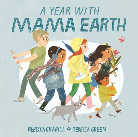 A Year with Mama Earth Illustrated Kids Poems Books for kids poems poetry for young adults