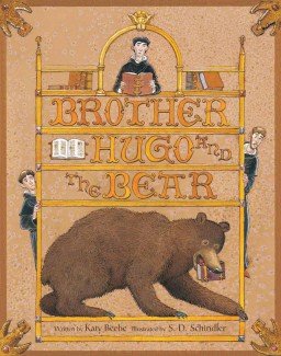 Brother Hugo and the Bear Children's illustrated picture book about friendship kids illustrated book
