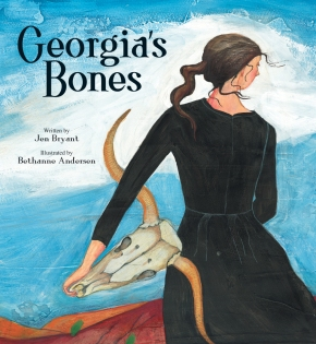 Georgias Bones children books biographies for kids illustrated books Georgia O'Keeffe