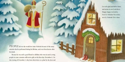 Happy Saint Nicholas day Merry Christmas