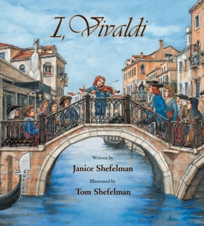 I, Vivaldi children books biographies for kids illustrated books