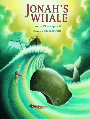 Jonah's Whale illustrated childrens book kidslit