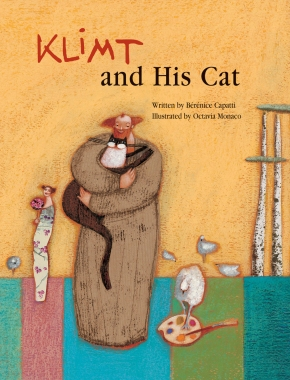 Klimt and His Cat children books biographies for kids illustrated books