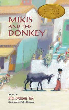 Mikis and the Donkey Children's illustrated picture book about friendship kids illustrated book