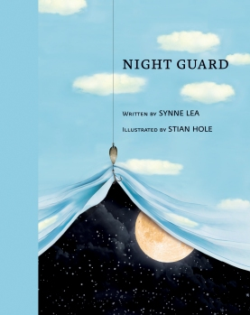 Night Guard Children's illustrated picture book about friendship kids illustrated book