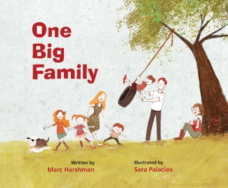 One Big Family Childrens illustrated books for kids.jpg