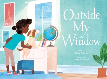 Outside My Window Children's illustrated picture book about friendship kids illustrated book.jpg