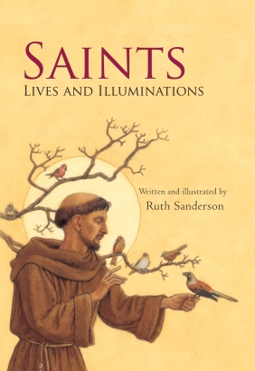 Saints Lives and Illuminations children books biographies for kids illustrated books