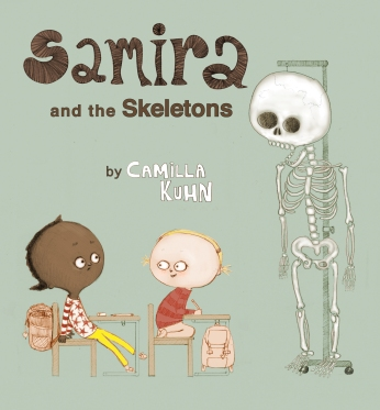 Samira and the Skeletons Children's illustrated picture book about friendship kids illustrated book