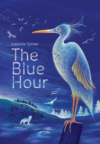 The Blue Hour ilustrated Picture book kids books