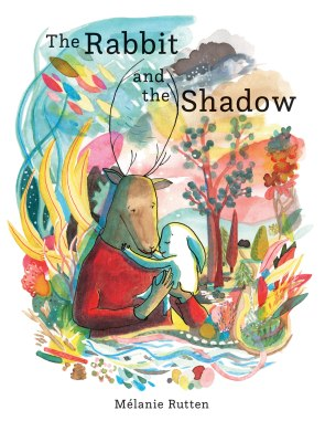 The Rabbit and the Shadow Children's illustrated picture book about friendship kids illustrated book