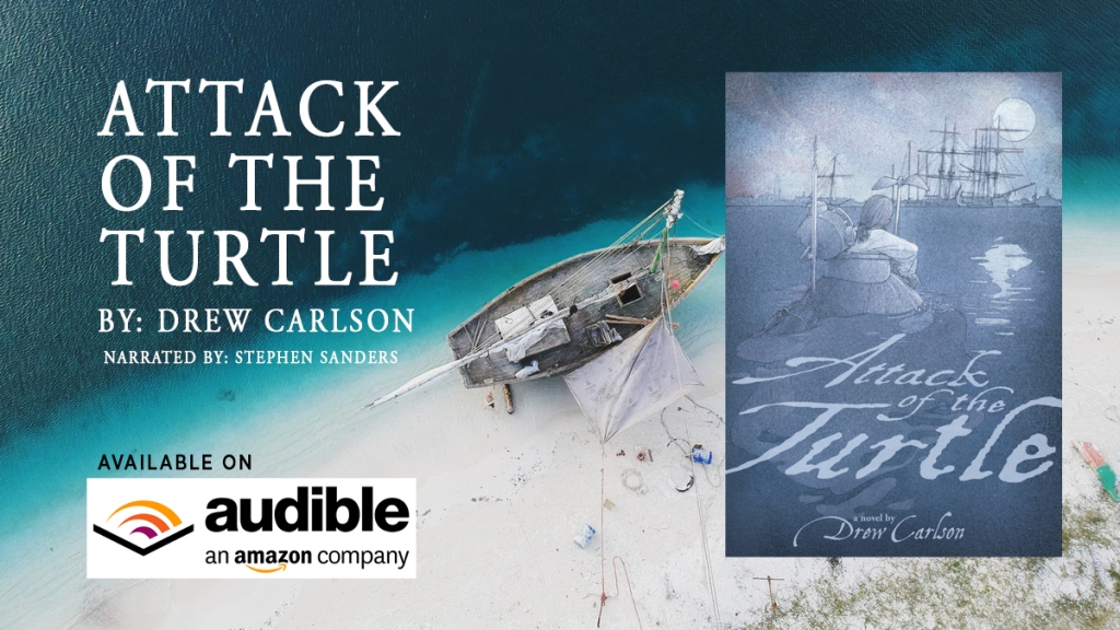 Attack of the Turtle AUDIOBOOK Drew Carlson
