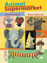 Animal Supermarket childrens books for kids illustrations