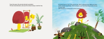 Vote for Me! childrens illustrated picture books kids