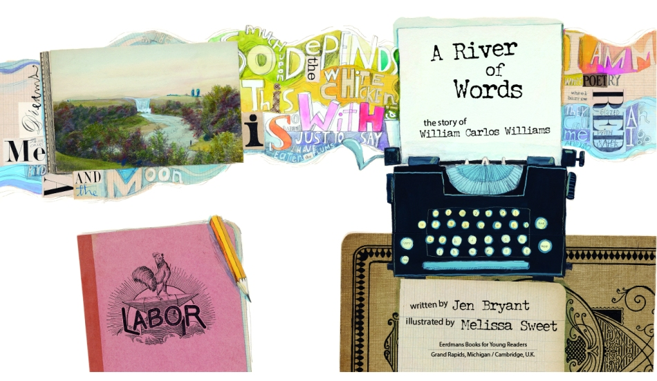 A River of Words written by Jen Bryant and illustrated by Melissa Sweet