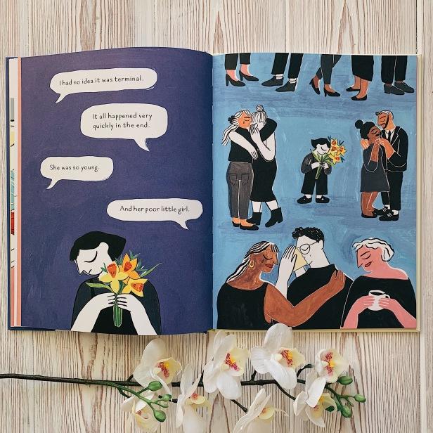 Jayde Perkin Mom's Sweater illustrated children book
