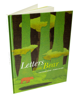 Letters from Bear amazing children's books