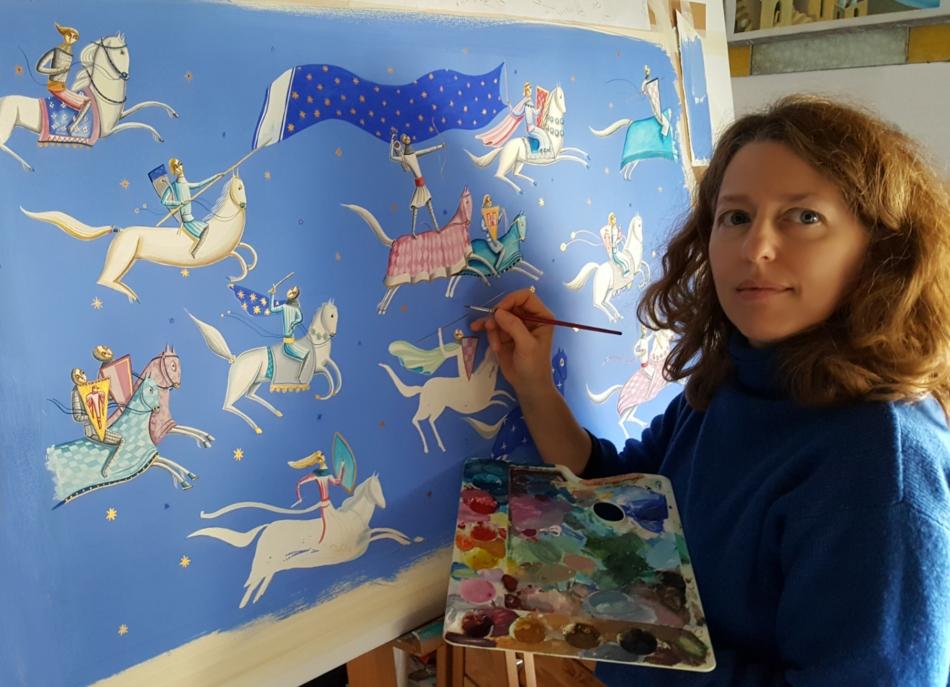 Children's books illustrator Bimba Landmann