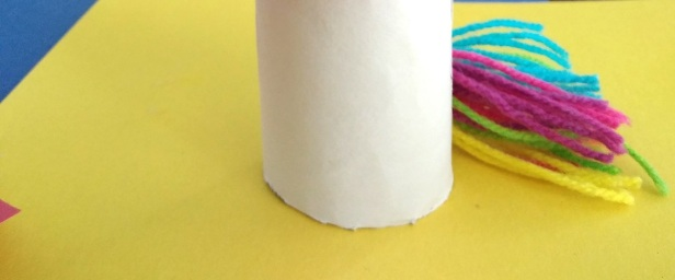 toilet paper unicorn craft idea for children unicorn tail