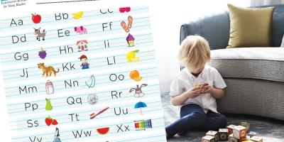 Free printable alphabet for children