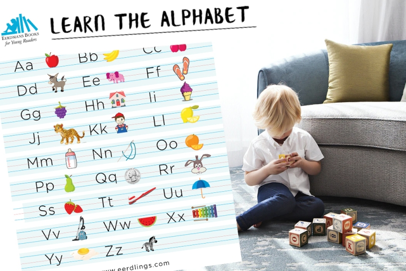 Free printable alphabet for children
