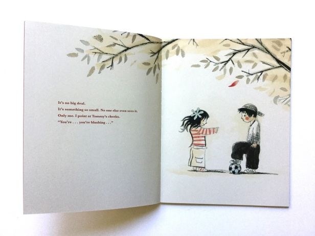 RED children's book by Author and Illustrator Jan De Kinder kids book