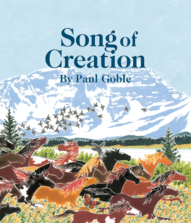 Song of Creation childrens book
