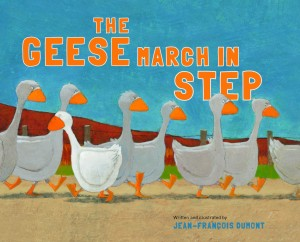The Geese March in Step children's books for kids