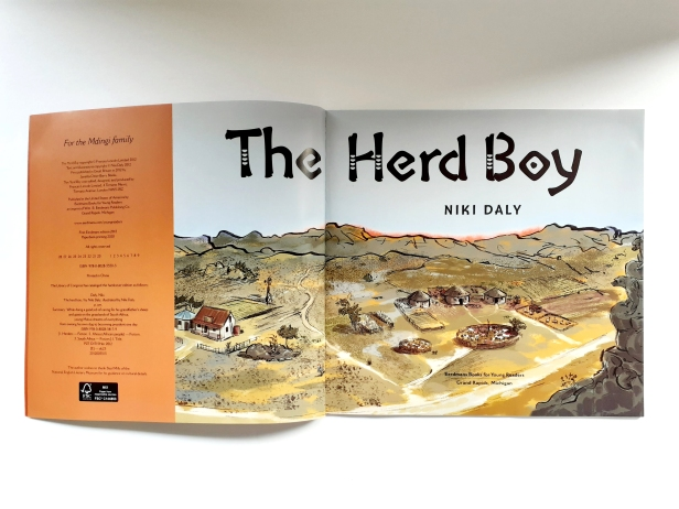 The Herd Boy Niki Daly Children's Book