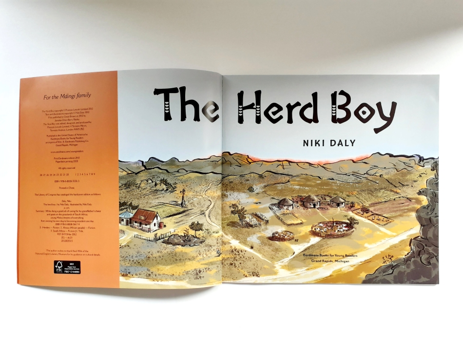 The Herd Boy Niki Daly Children's Book