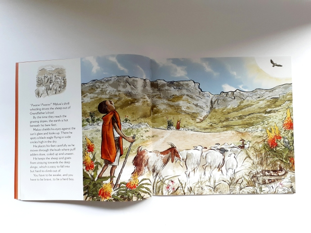 The Herd Boy Written and illustrated by Niki Daly
