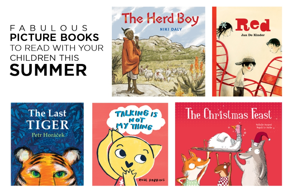 5 Fabulous Books to Read With Your Children This Summer